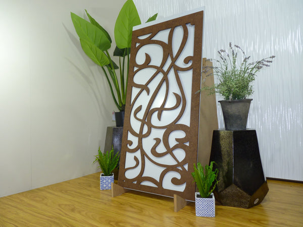 Music - 600 x 1200 mm - 9 mm Decorative Hardwood Screen - Living Effects