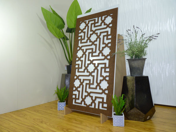 Istanbul - 600 x 1200 mm - 9 mm Decorative Hardwood Screen