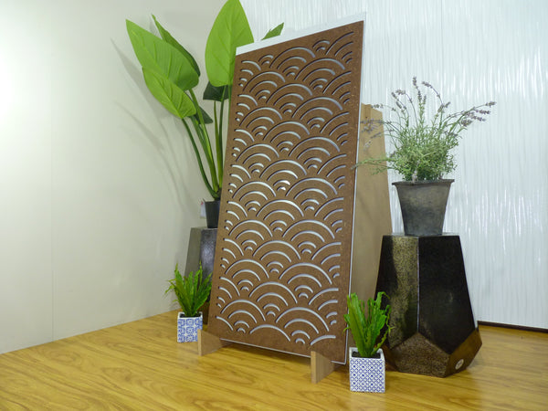 Elwood - 600 x 1200 mm - 9 mm Decorative Hardwood Screen
