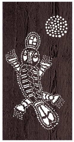 Platypus - 600 x 1200 mm - 9 mm Decorative Hardwood Screen - Living Effects