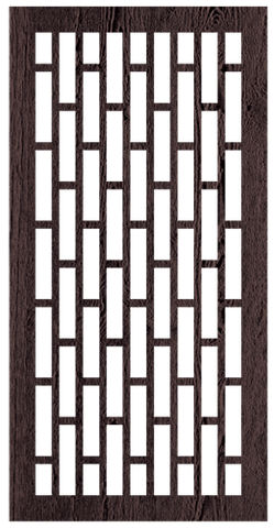 Valleta - 600 x 1200 mm - 9 mm Decorative Hardwood Screen - Living Effects