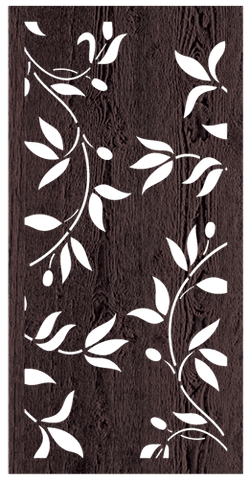 Vine - 600 x 1200 mm - 9 mm Decorative Hardwood Screen - Living Effects
