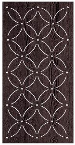 Eden - 600 x 1200 mm - 9 mm Decorative Hardwood Screen