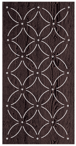 Eden - 600 x 1200 mm - 9 mm Decorative Hardwood Screen - Living Effects