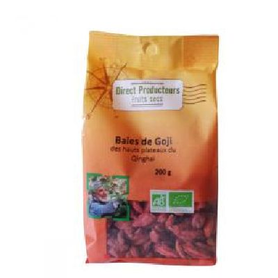 Baies Goji 200g Direct Producteur
