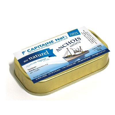 Anchois Entiers Au Naturel ** 48 G