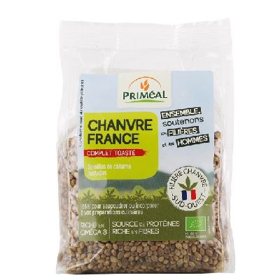 Graine De Chanvre Toastées 100% France