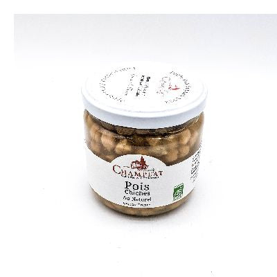 Pois Chiches Au Naturel 240g Champlat