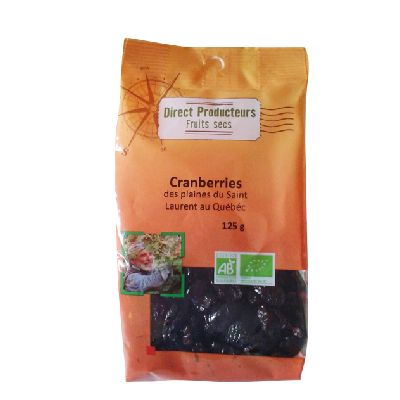 Cranberries 125g Direct Producteurs
