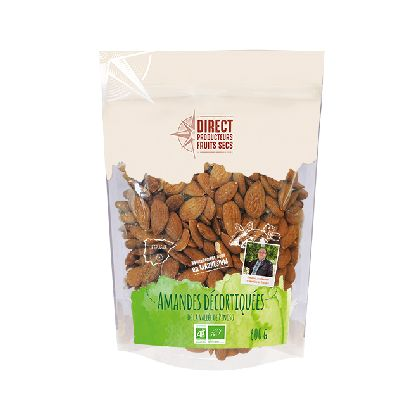Amandes Decortiquees 600g  Direct Producteurs