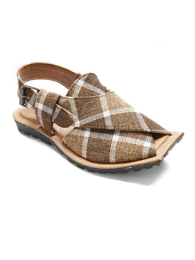 Brown Men Peshawari By Insole