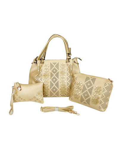 Gold Women Handbag BI-2327