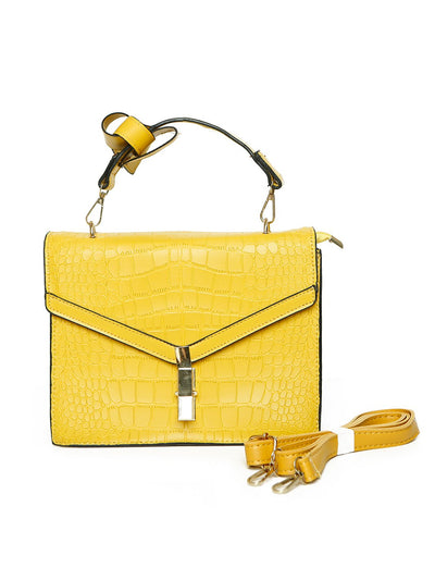 Women Mini Bag BI-2455-Yellow