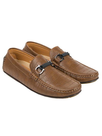 Brown Men Loafer GIS-500