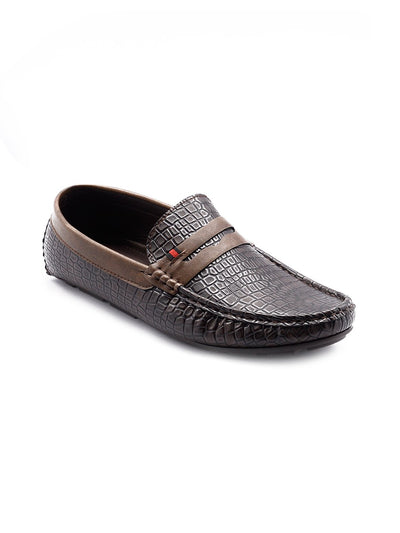 Men Loafers GIS-563 Coffee