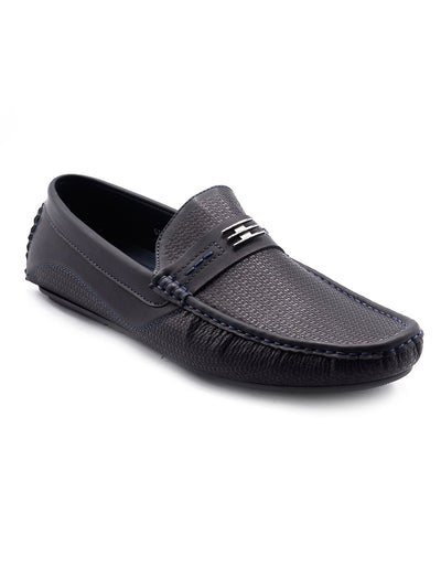 Men Big Size Loafers GIS-570 Coffee