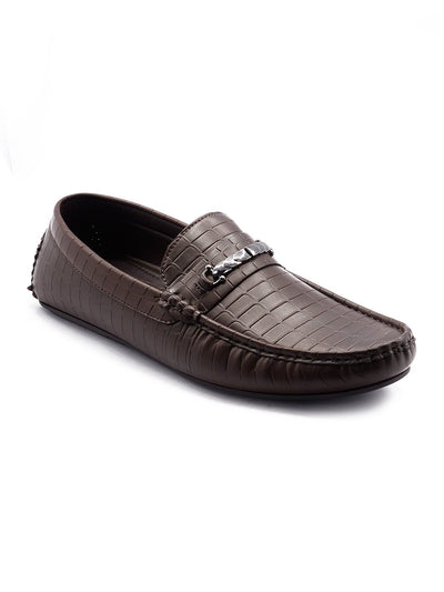 Men Big Size Loafers GIS-572 Black