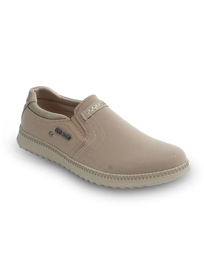 Beige Men Casual Shoes GIS-611