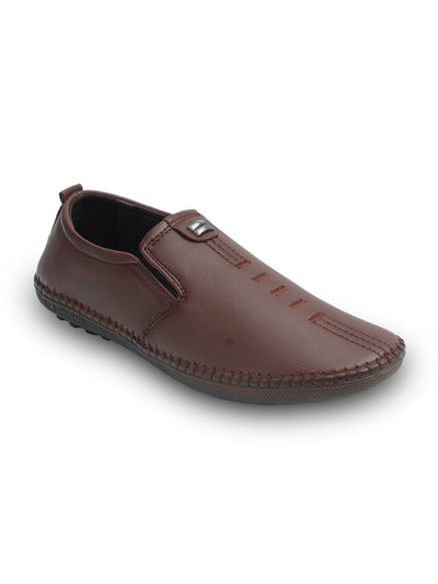 Brown Men Casual Shoes GLS-053