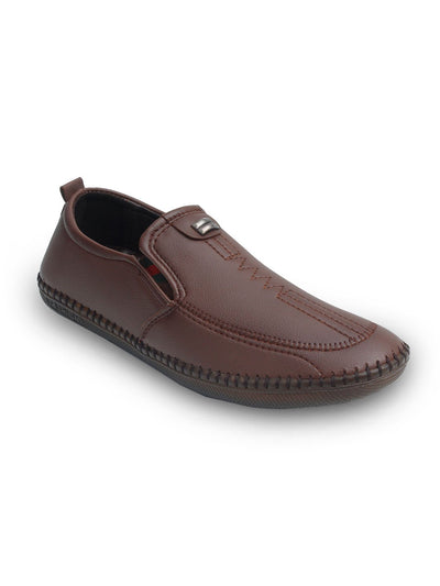 Brown Men Casual Shoes GLS-054