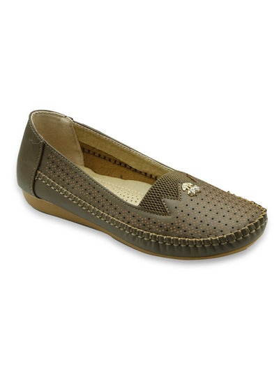 Women Pumps LIS-618-Khaki