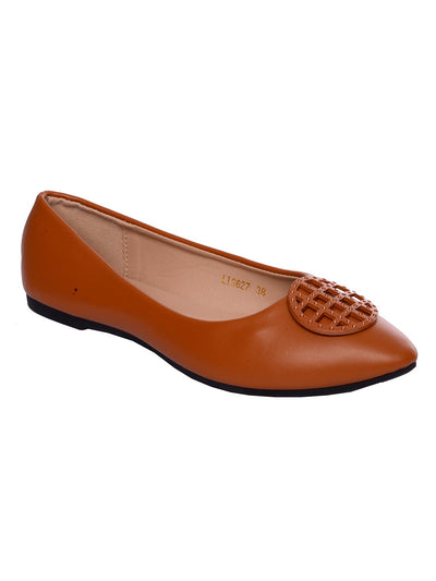 Women Pumps LIS-627 Brown