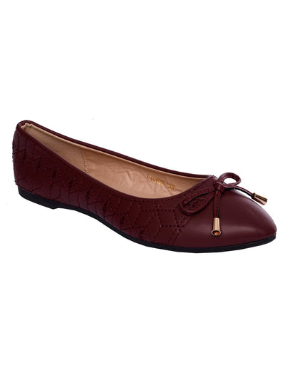 Women Pumps LIS-633 Maroon