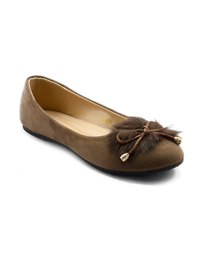 Women Pumps LIS-637 Brown