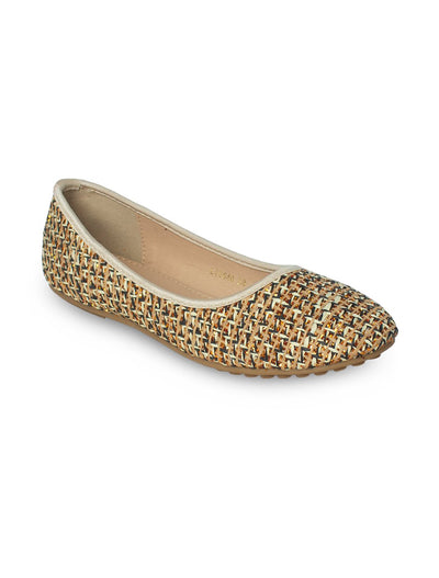 Golden Women Pumps LIS-640