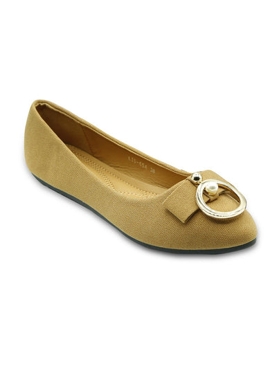 Women Pumps LIS-654 Khaki