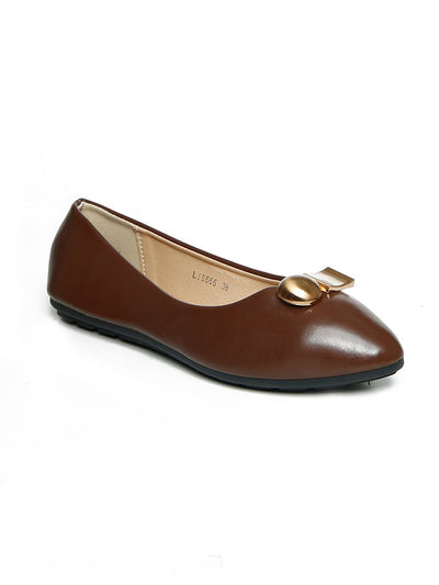 Women Pumps LIS-666 Brown