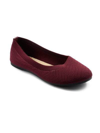 Women Pumps LIS-668 Maroon