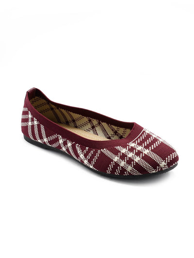 Women Pumps LIS-670 Maroon