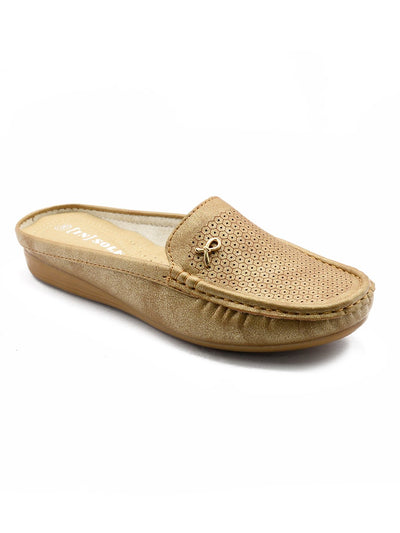 Women Loafers LIS-672 Camel