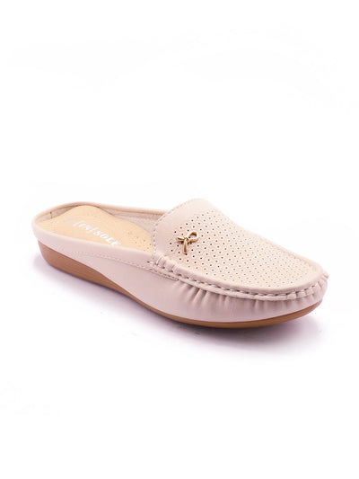 Women Loafers LIS-672 Beige