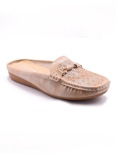 Women Loafers LIS-673 Apricot
