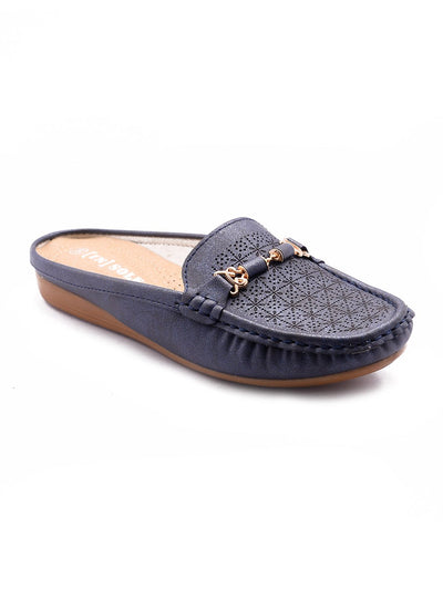 Women Loafers LIS-673 Navy