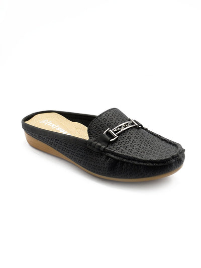 Women Loafers LIS-674 Black