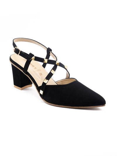 Women Mules LLS-069 Black