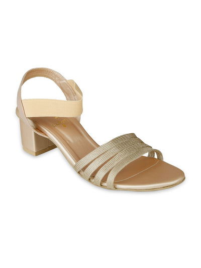Women Fancy Sandals LLS-073 - Peach