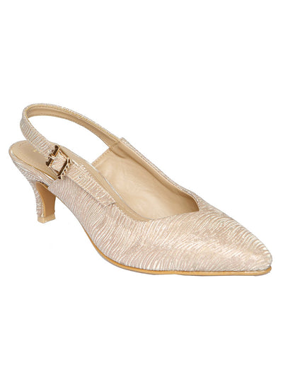 Women Mules LLS-086 Gold