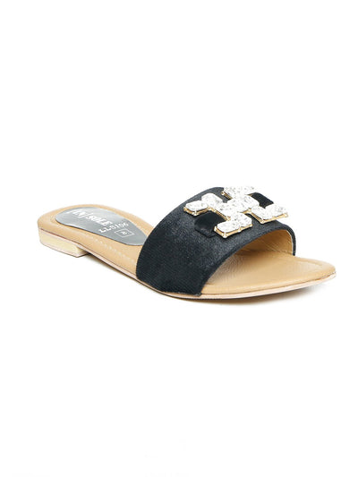 Women Slipper LLS-106 Black