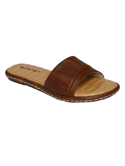 Women Slippers LLS-112 Brown