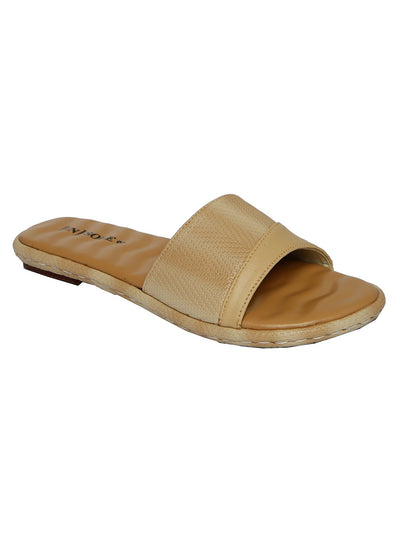 Women Slippers LLS-112 Fawn