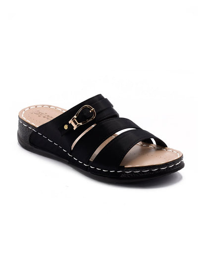 Black Women Chappal LLS-128