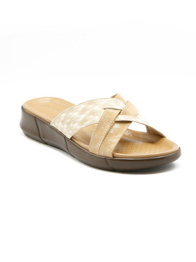 Women Slippers LLS-132 Fawn