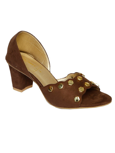 Women Heels LLS-139 Coffee