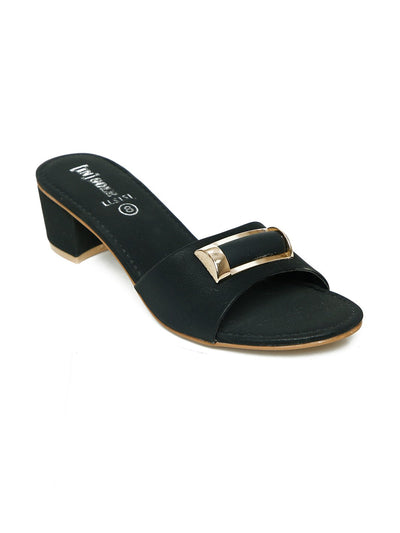 Women Slippers LLS-151 Black