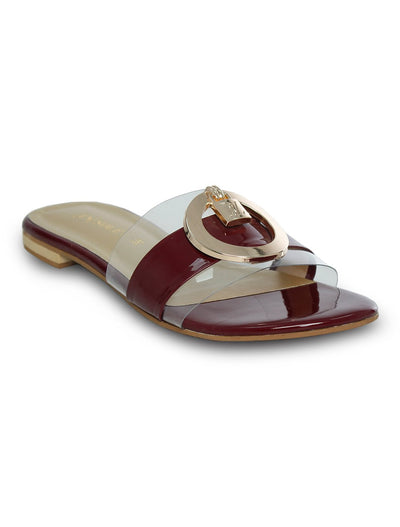 Maroon Slipper LLS-172