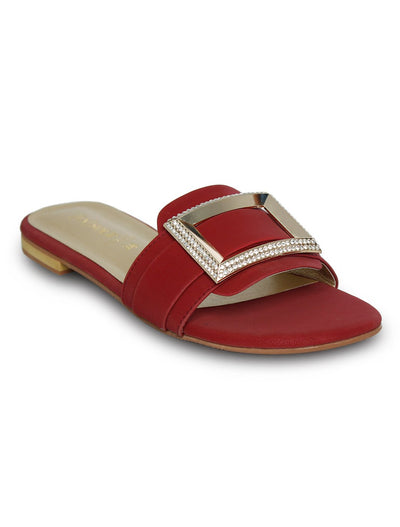 Maroon Slipper LLS-173